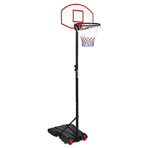 Best Choice Products Kids Portable Basketball Hoop w/Adjustable...