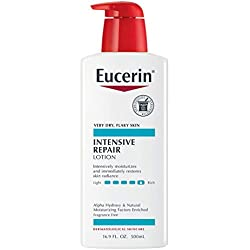 Eucerin Intensive Repair Lotion - Rich Lotion for Very Dry, Flaky Skin - 16.9 fl. oz. Pump Bottle