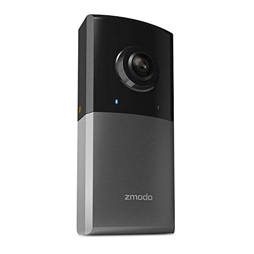 Zmodo Sight 180 Outdoor Wireless Security Camera, 180 Degree Viewing Angle Full HD 1080p Resolution - Works with Alexa
