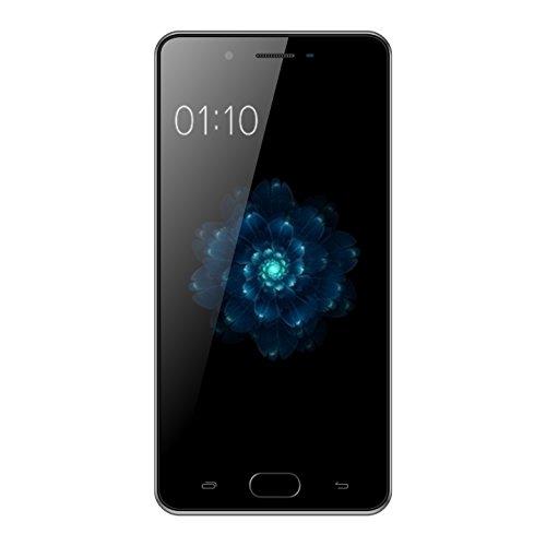 "Kenxinda X6 Uncloked Dual-Sim Smartphone 5.0"" Display, 13Mp+8MP Camera, Andoid 7.0 MTK6737 Platform Chinese 4G Smartphone (Grey)"