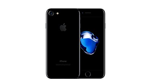Apple iPhone 7 Unlocked Phone 128 GB - International Version (Jet Black)