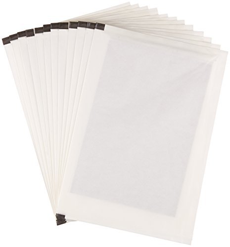 AmazonBasics SP12A Paper Shredder Sharpening & Lubricant Sheets - Pack of 12
