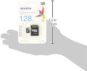 31wFMG9kl L. AC  - ADATA RAM-3040 Memoria Micro SDHC/SDXC Uhs-I 128GB Clase 10 A1 85Mb/Seg C/Adaptador #Amazon