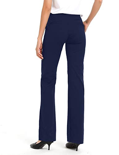 Yoga style dress pants with pockets