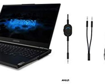 Lenovo Legion 5 AMD Ryzen 5 4600H 15.6″ FHD Gaming Laptop (8GB/1TB HDD/256GB SSD/Win10/120 Hz/NVIDIA GTX 1650 4GB GDDR6/2.3Kg) 82B500BHIN + Legion Headset + M300 Gaming Mouse Upto 8K DPI/16.8M RGB