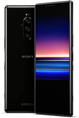 Sony Xperia 1 Unlocked Smartphone 6.5″ 4K HDR OLED CinemaWide Display, 128GB – Black – (US Warranty)