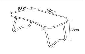 TARKAN-Foldable-Wooden-Laptop-Desk-for-Bed-Walnut-Black