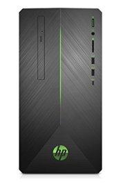 HP Pavilion Gaming Desktop Computer, AMD Ryzen 3 2200G, AMD Radeon RX 550, 8GB RAM, 1TB hard drive, Windows 10 (690-0010, Black)