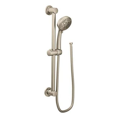 Moen-3669EPBN-Eco-Performance-Handheld-Showerhead-with-69-Inch-Long-Hose-Featuring-30-Inch-Slide-Bar-Brushed-Nickel