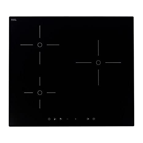 Ikea Trevlig Piano Cottura A Induzione Nero Amazonit