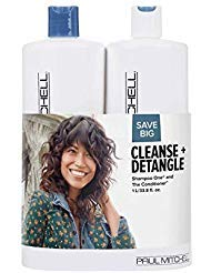 Paul Mitchell Cleanse And Detangle Classic Liter Duo Set