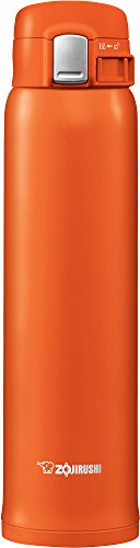 Zojirushi SM-SHE60DV Stainless Steel Mug 20 ounce Vivid Orange