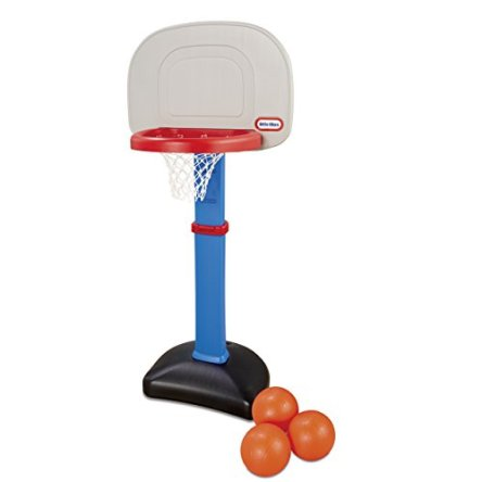 LT Little Tikes EasyScore Basketball Set, Blue – 3 Ball Amazon Exclusive
