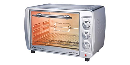 Bajaj 3500 TMCSS 35-Litre Oven Toaster Grill (Silver) 238