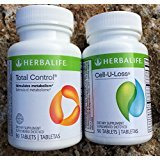 Herbalife Total Control and Cell-U-Loss Combo 90 Tablets Each