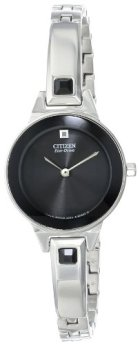 Citizen Women's Eco-Drive Bangle Watch with Crystal Accents, EX1320-54E