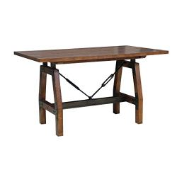 Homelegance Beechnut Counter Height Table, Brown