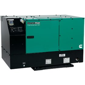 Cummins Onan 10.0 HDKCC42345 – Commerical Mobile generator set Quiet Diesel Series QD 10000