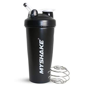 Myshake Classic Protein Shaker Bottle for Gym with Silicon Flip 600 ml - (Black) 21  Myshake Classic Protein Shaker Bottle for Gym with Silicon Flip 600 ml – (Black) 31zeVoI799L