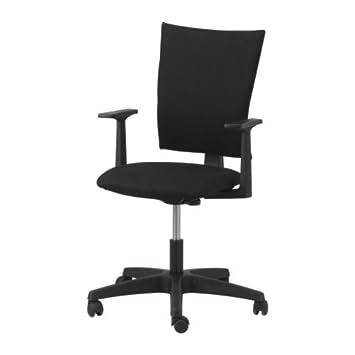 Ikea Klemens Swivel Chair Alme Black Amazoncouk