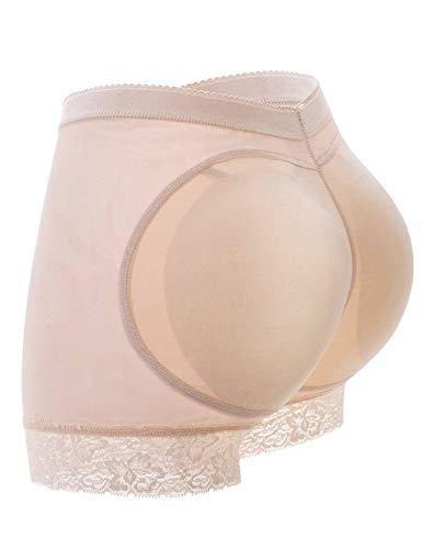 FUT Womens Fake Buttock Briefs Butt Lifter Padded Control Panties Hip Enhancer Underwear Shapewear Boyshort