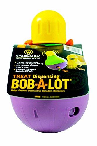 StarMark Bob-A-Lot Interactive Pet Toy, Large