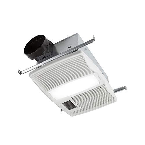 Broan-Nutone-QTX110HL-Very-Quiet-Ceiling-Heater-Fan-and-Light-Combo-for-Bathroom-and-Home-09-Sones-1500-Watt-Heater-60-Watt-Incandescent-Light-110-CFMWhite