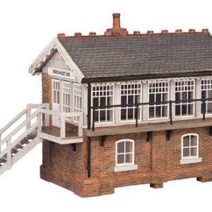 Graham Farish 42-0060 Scenecraft March West Signal Box (Pre-Built) 41 2B3uBhExrL