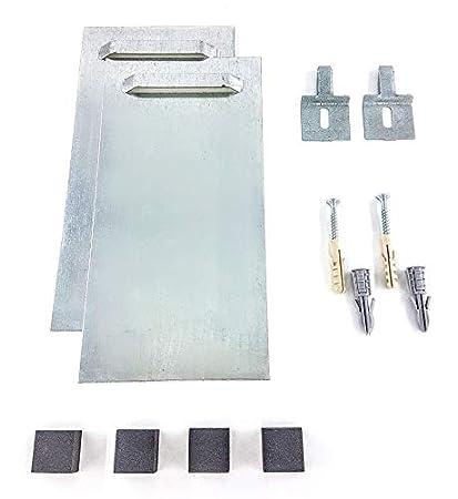 Kit Per Appendere Un Pannello O Specchio In Alluminio Kit Autoadesivo Per Intonaco E Pareti Fino A 15 Kg