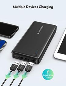 Power-Bank-RAVPower-26800mAh-Portable-Charger-Battery-Pack-Total-55A-Output-External-Battery-3-Ports-Portable-Phone-Charger-Compatible-with-iPhone-11-Pro-Max-SE-iPad-Samsung-Galaxy-S20-Note10-Black