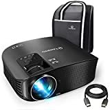 VANKYO Leisure 510 Full HD Projector with 3800 Lux, Video Projector with 200' Projection Size, Support 1080P HDMI VGA AV USB with Free HDMI Cable and Carrying Bag