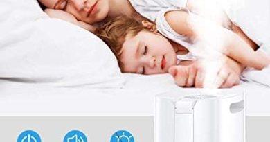 Kollea Ultraschall Luftbefeuchter, 4L Top-Füllung Humidifier mit Lüfter und LED Bildschirm, Ultra Leise Raumluftbefeuchter Einstellbare Nebelmenge Timing,Schlafmodus Für Schlafzimmer,Besprechungsraum