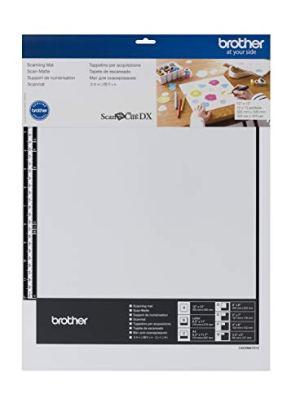 Brother ScanNCut DX Mat CADXMATS12, 12″ x 12″ Scanning Mat, Non-Tack to Convert Materials into Custom Designs