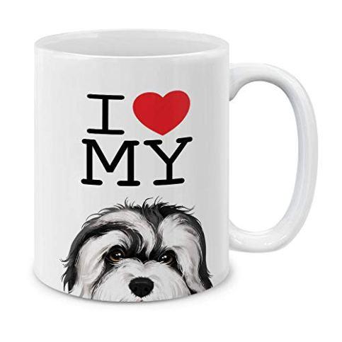MUGBREW-I-Love-My-White-Silver-Havanese-Dog-Ceramic-Coffee-Gift-Mug-Tea-Cup-11-OZ