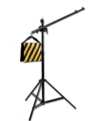 CowboyStudio Photography Video Studio Premium Pro Boom Set W501 with Light Stand, Boom and Weight Bag