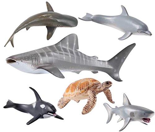 Sea Animals Toys : Ocean sea animal set action figure toys realistic