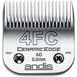 Stainless Steel Professional CERAMIC EDGE CLIPPER BLADES Extra Life(# 4FC Finish Blade = 9.5mm)