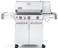 Weber Genesis 6570001 S-330 Stainless-Steel 637-Square-Inch 38,000-BTU Liquid-Propane Gas Grill