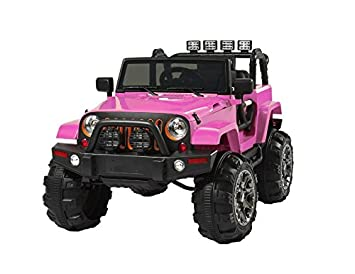 Jeep Style 12V RideOn Truck W/Remote Control, 3 Spds