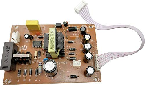 Satguru Power Supply Circuit Board for Free to Air D2H DTH Set Top Box Satellite Receiver Replacement SMPS PCB (Brown) 2