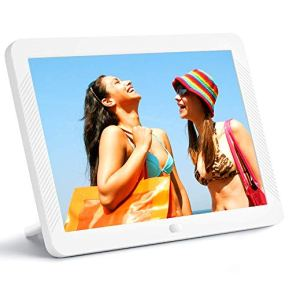8-Inch-Digital-Picture-Frame-1920x1080-IPS-Widescreen-Digital-Video-Photo-Frame-with-100-Brightness-10-Slideshow-Effects-5-Play-Modes-and-Calendar-Alarm-SDUSB-Slots-White