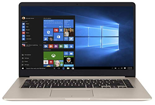 ASUS VivoBook S15 S510UN-BQ070T Intel Core i5 8th Gen 15.6-inch FHD Thin and Light Laptop (8GB RAM/1TB HDD + 128GB SSD/Windows 10/2GB NVIDIA GeForce MX150 Graphics/FP Reader/Backlit KB/1.70 Kg), Gold 1