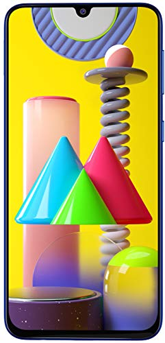 41+xWzgV8jL - Samsung Galaxy M31 (Ocean Blue, 6GB RAM, 128GB Storage)