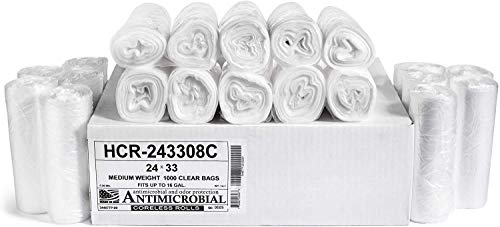 Aluf-Plastics-12-16-Gallon-Clear-Trash-Bags-1000-Count-24-x-33-8-Micron-Equivalent-High-Density-Value-Garbage-Bags-for-Bathroom-Office-Industrial-Commercial-Janitorial-Recycling