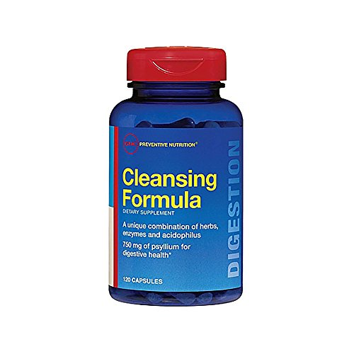 GNC Preventive Nutrition Cleansing Formula California Only, 120 Capsules, Supports Digestive Health