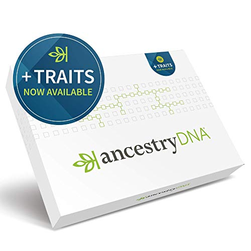 AncestryDNA + Traits: Genetic Ethnicity + Traits Test, AncestryDNA Testing Kit with 25+ Appearance and Sensory Traits… 1
