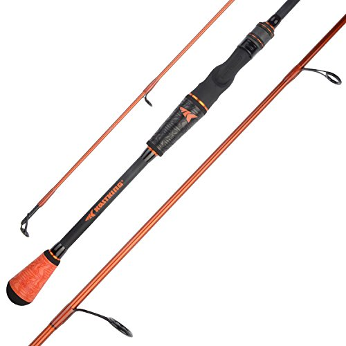 KastKing Speed Demon Pro Bass Fishing Rods, Spinning Rod-Jig-Worm-7ft 3in Medium - Fast