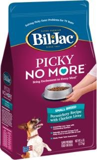 Bil-Jac Picky No More Small Breed Chicken Liver Dry Dog Food 6 Pounds