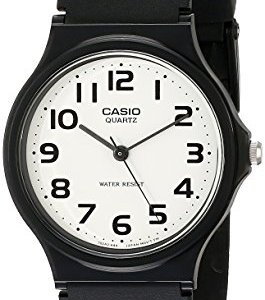 Casio Men's MQ24-7B2 Analog Watch with Black Resin Band 10 Fashion Online Shop Gifts for her Gifts for him womens full figure