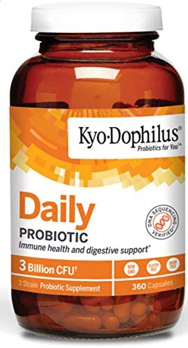 Kyo-Dophilus Daily Probiotic, Immune and Digestive Support, 360 capsules (Packaging may vary) 2